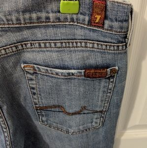 Vintage 7 For All Mankind Bootcut Jeans